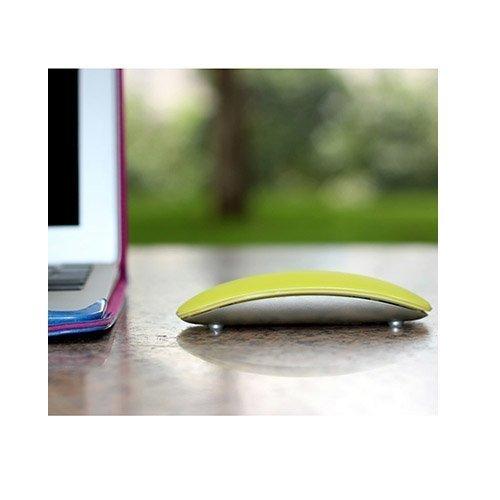 Silikoni Kuori Apple Macbookille Magic Mouse Keltainen