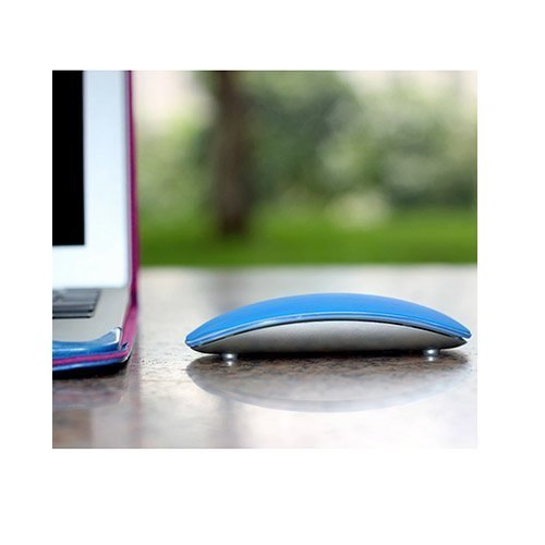 Silikoni Kuori Apple Macbookille Magic Mouse Sininen