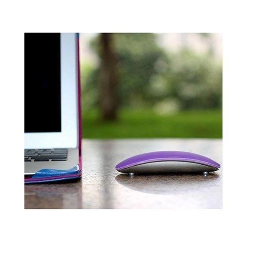 Silikoni Kuori Apple Macbookille Magic Mouse Violetti