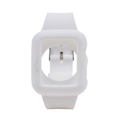 Silikooni Ranneke Apple Kellolle 38mm Valkoinen