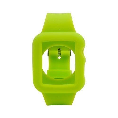 Silikooni Ranneke Apple Kellolle 38mm Vihreä