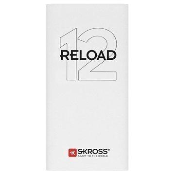 Skross Reload 12 Virtapankki 12000mAh Valkoinen