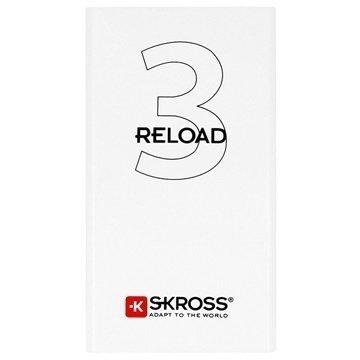 Skross Reload 3 Virtapankki 3500mAh Valkoinen