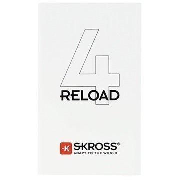 Skross Reload 4 Virtapankki 4000mAh Valkoinen