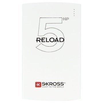 Skross Reload 5HP Virtapankki 5000mAh Valkoinen