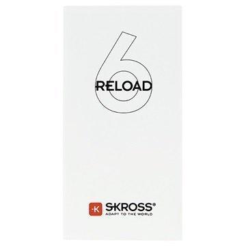Skross Reload 6 Virtapankki 6000mAh Valkoinen