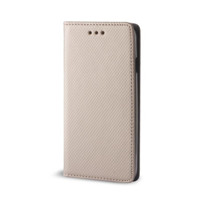 Smart Magnet Lompakkomallinen suojakotelo Huawei Honor 8 Kulta