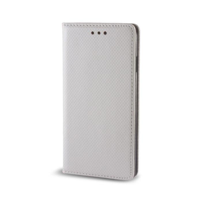 Smart Magnet Lompakkomallinen suojakotelo Huawei Honor 8 Metallin värinen
