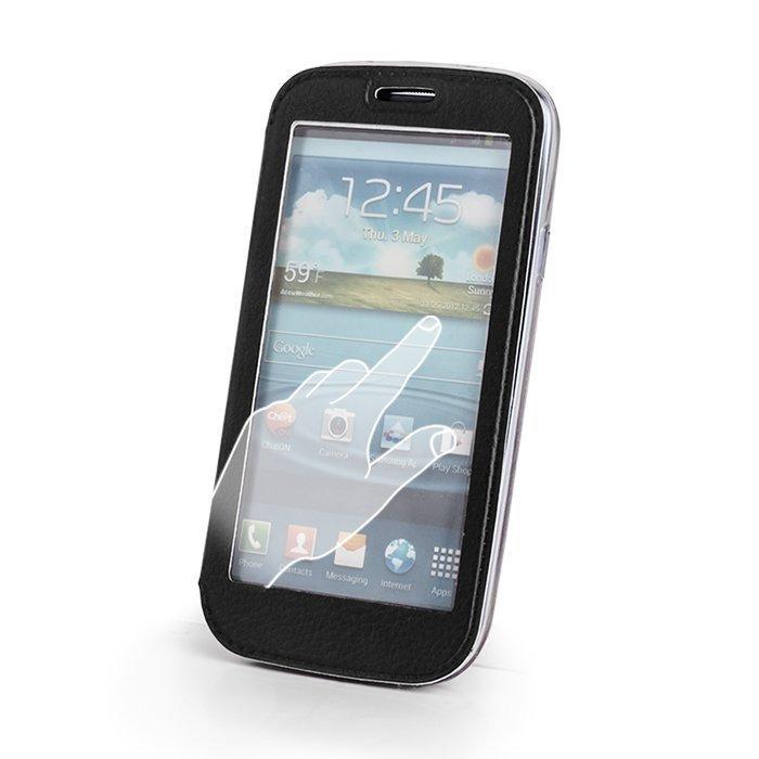 Smart View suojakotelo Samsung Galaxy S5 mini musta