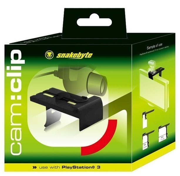 Snakebyte PS3 Cam : Clip