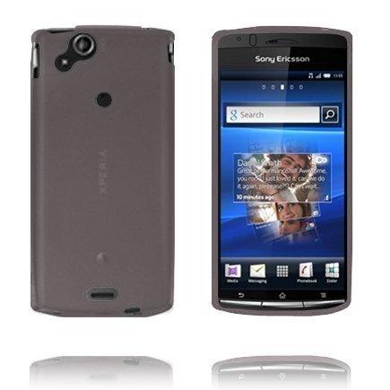 Soft Shell Harmaa Sony Ericsson Xperia Arc Silikonikuori