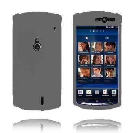 Soft Shell Harmaa Sony Ericsson Xperia Neo Silikonikuori