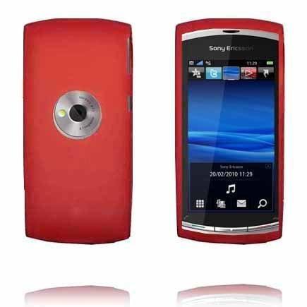 Soft Shell Punainen Sony Ericsson Vivaz Silikonikuori