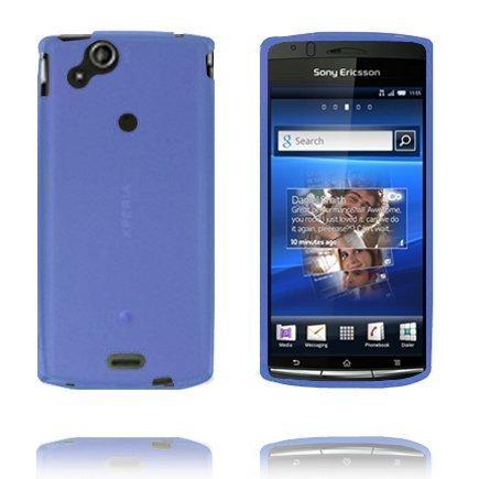 Soft Shell Sininen Sony Ericsson Xperia Arc Silikonikuori