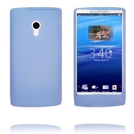 Soft Shell Sininen Sony Ericsson Xperia X10 Silikonikuori