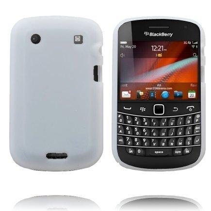 Soft Shell Valkoinen Blackberry Bold 9900 / 9930 Silikonikuori