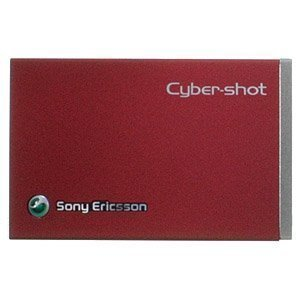 Sony Ericsson C902 Battery Cover Red