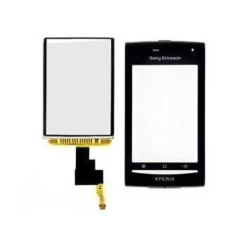 Sony Ericsson XPERIA X8 Front Cover Black