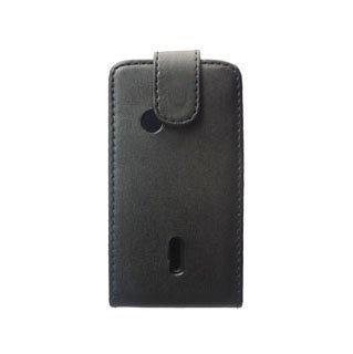 Sony Ericsson Xperia X8 Nahkakotelo Musta