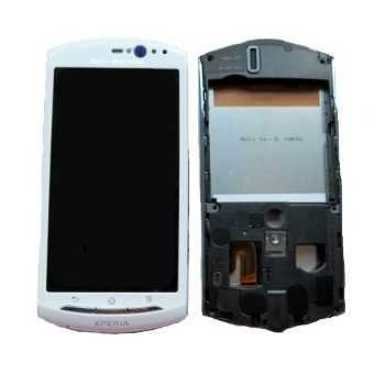 Sony Ericsson Xperia neo V Front Cover & LCD Display White