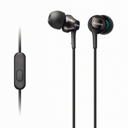 Sony MDR-EX100AP In-Ear with Mic1 Black