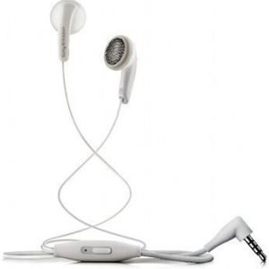 Sony MH410c Earbuds with Mic1 White