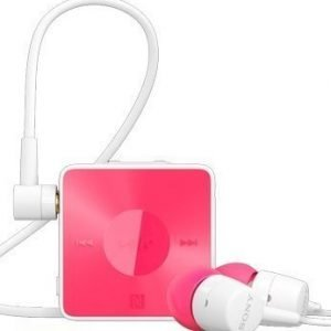 Sony SBH20 Bluetooth & NFC In-Ear Headset Pink