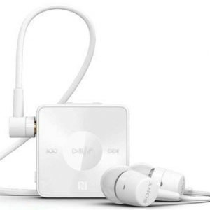 Sony SBH20 Bluetooth & NFC In-Ear Headset White