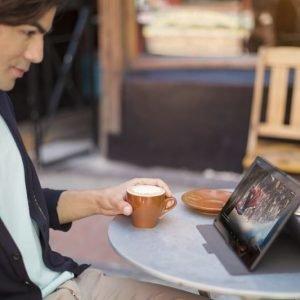 Sony Style Cover SCR32 Xperia Z4 Tablet Black