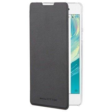 "Sony Xperia E5 Roxfit Simpli Book Suojakotelo â"" Musta"