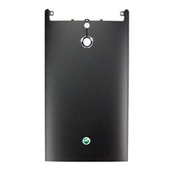 Sony Xperia P Battery Cover Black