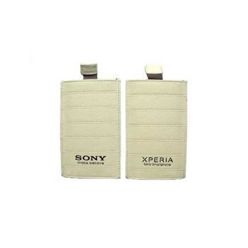 Sony Xperia S Leather Case White