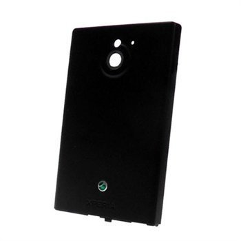 Sony Xperia Sola Battery Cover Black