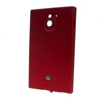 Sony Xperia Sola Battery Cover Red