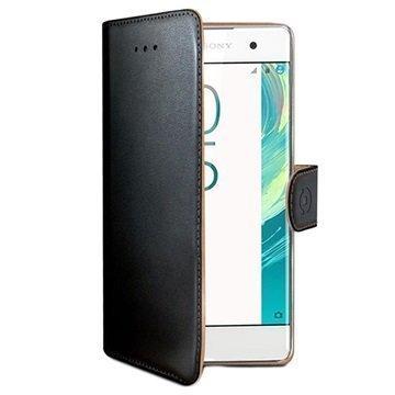 Sony Xperia X Celly Wally Lompakkokotelo Musta