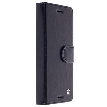 Sony Xperia X Compact Krusell Ekerö 2-in-1 Lompakkokotelo Musta