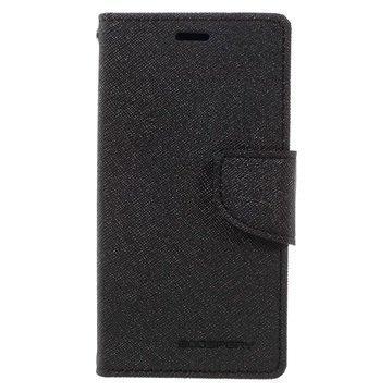 Sony Xperia X Compact Mercury Goospery Fancy Diary Wallet Case Black