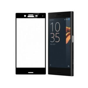 Sony Xperia X Compact Panssarilasi 3d Full Cover Musta