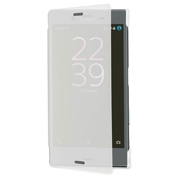 Sony Xperia X Compact Roxfit Pro-2 Touch Book Suojakotelo Frosted Kirkas