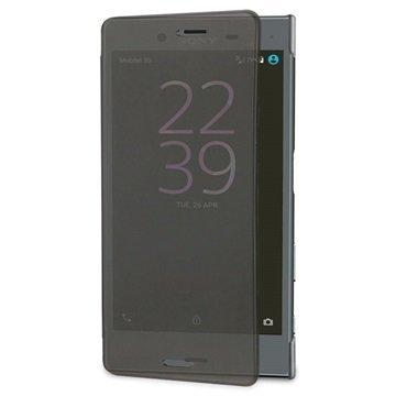 Sony Xperia X Compact Roxfit Pro-2 Touch Book Suojakotelo Musta