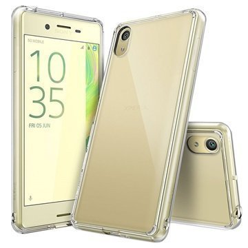 Sony Xperia X Performance Ringke Fusion Case Clear