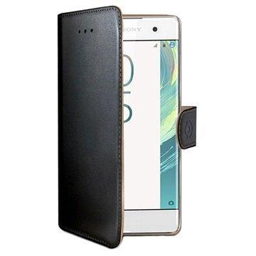 Sony Xperia XA Celly Wally Lompakkokotelo Musta