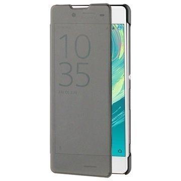 Sony Xperia XA Roxfit Pro-2 Touch Book Suojakotelo Musta