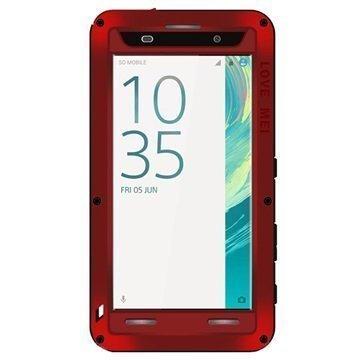 Sony Xperia XA Xperia XA Dual Love Mei Powerful Case Red