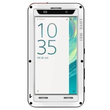 Sony Xperia XA Xperia XA Dual Love Mei Powerful Case White