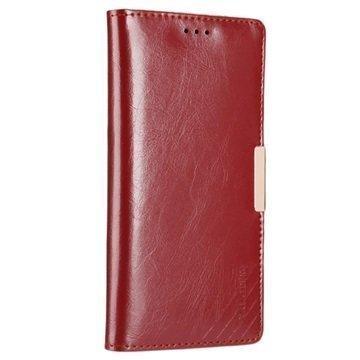 Sony Xperia XZ Kalaideng Royale II Nahkainen Lompakkokotelo Punainen