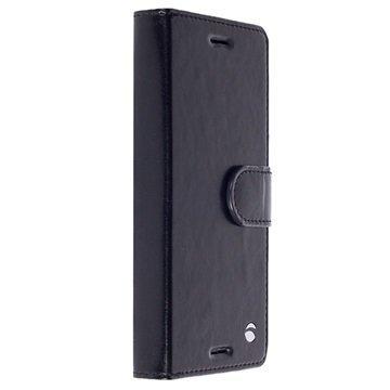 Sony Xperia XZ Krusell Ekerö 2-in-1 Lompakkokotelo Musta