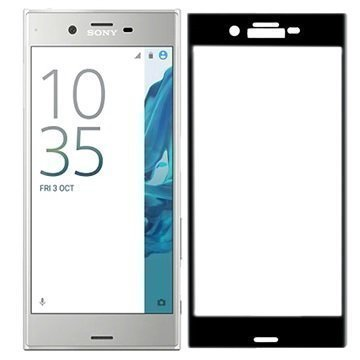Sony Xperia XZ Roxfit Premium Näytönsuoja Karkaistua Lasia Musta