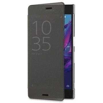 Sony Xperia XZ Roxfit Pro-2 Touch Book Suojakotelo Musta