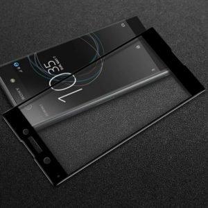 Sony Xperia Xa1 Panssarilasi 3d Full Cover Läpinäkyvä